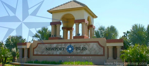 Entrance to Newport Isles